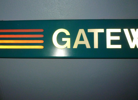 Gateway Gifts sign, Epcot, 1982