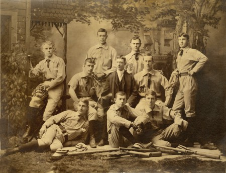 University of Michigan, baseball team, 1886