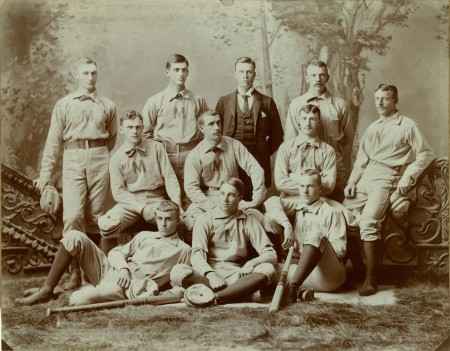 University of Michigan, baseball team, 1888