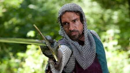 King Edward II, played by Ben Chaplin, World Without End