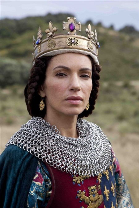 Isabella de Capet of France, played by Aure Atika, World Without End