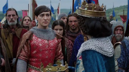 Edward II, played by Blake Ritson, World Without End