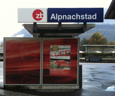 Helvetica in Switzerland