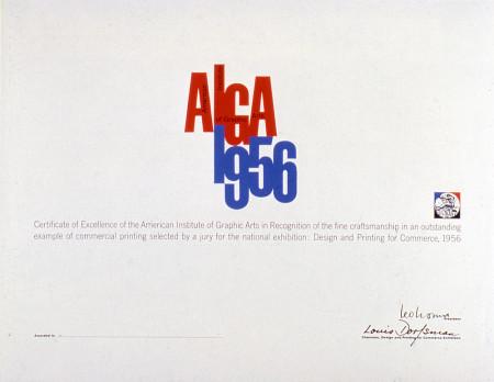 Leo Lionni, AIGA Award