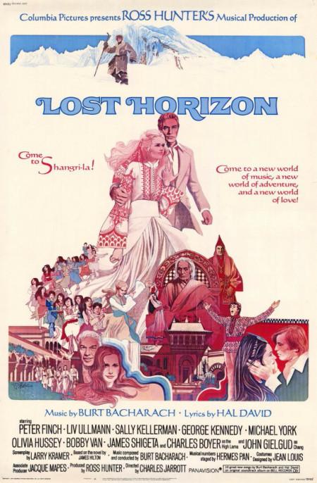 Lost Horizon poster, 1973
