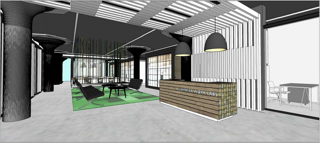 Delicieux Rendering By Courtesy Of Brooklyn Desks. The Cheap Storage Building ...