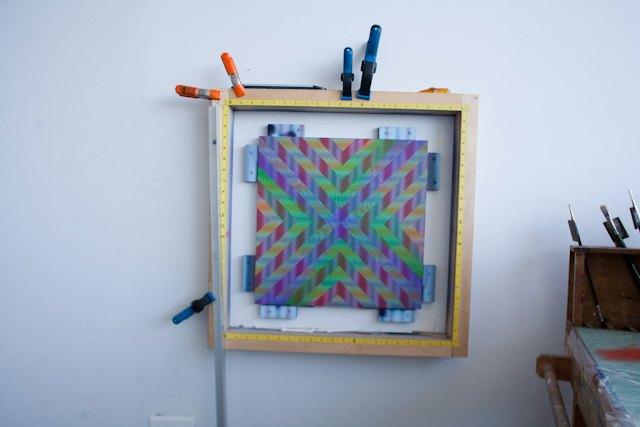 How To Make Straight Line Art : Straight line of rob de oude u bushwick daily