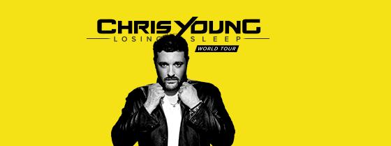 Chris Young - Losing Sleep World Tour