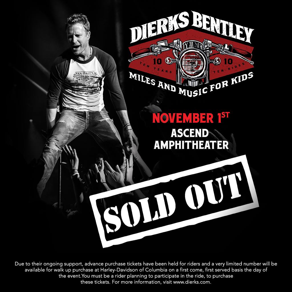 Dierks Bentley Mile and Music