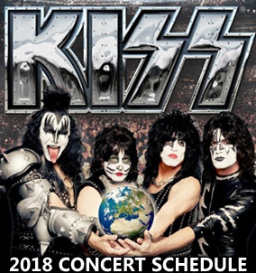 2018 KISS tour dates