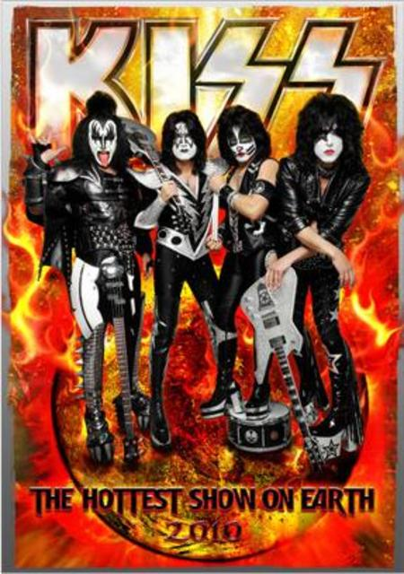Kiss Hottest Show On Earth Tour Book