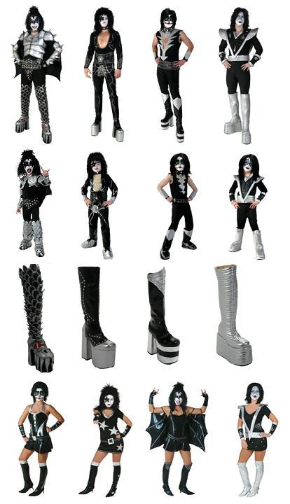 here are the latest additions to the line of kiss licensed merchandise available from costumes galore all items are available for purchase on www