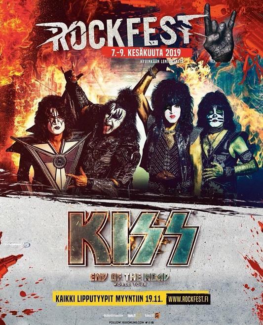 Kiss online news kiss headlining rockfest finland m4hsunfo