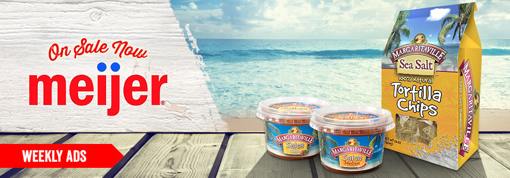 Margaritaville Foods available at Meijer