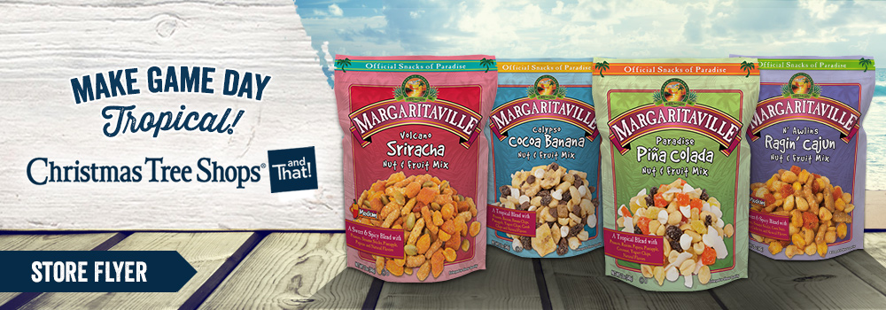 Margaritaville Foods Available at Christmas Tree Shops
