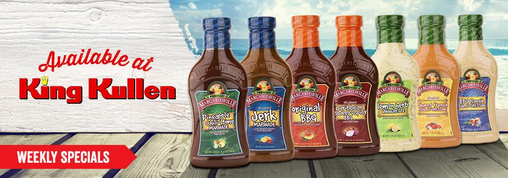 Margaritaville Foods available at King Kullen