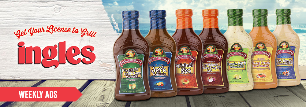 Margaritaville Foods available at Ingles
