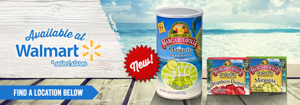 Margaritaville At Select Walmart Locations
