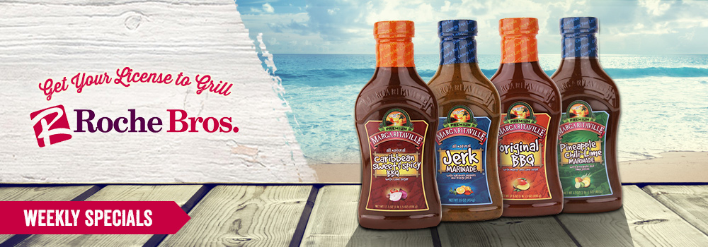 Margaritaville Foods available at Roche Bros