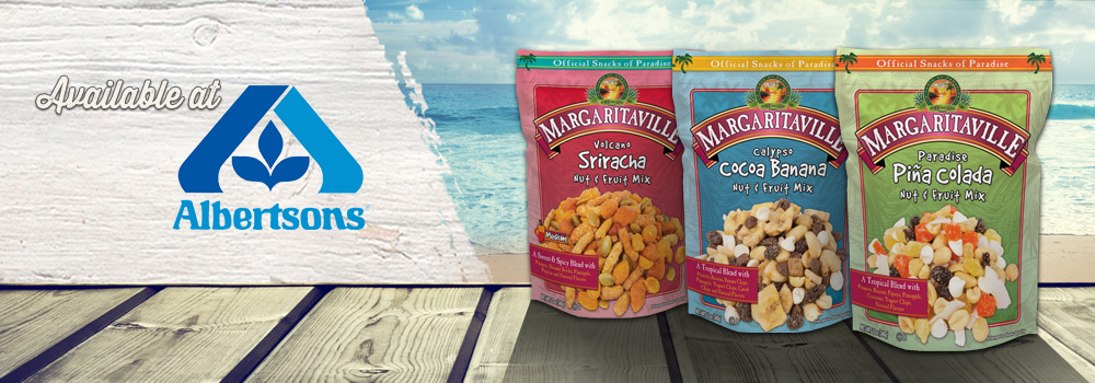 Margaritaville Foods Available at Albertsons