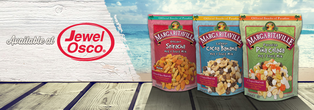 Margaritaville Foods Available at Jewel Osco