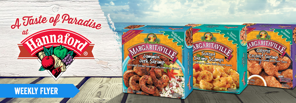 Margaritaville Foods Available at Hannaford