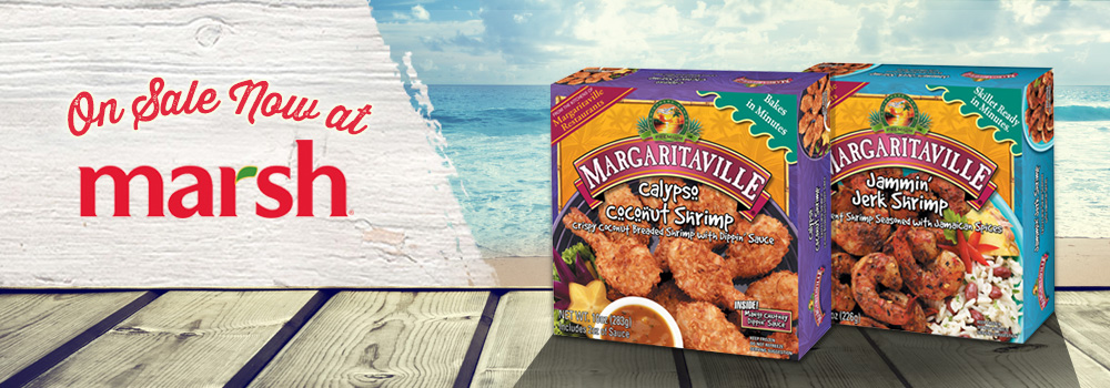 Margaritaville Foods Available at Marsh
