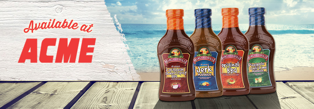 Margaritaville Foods Available at Acme