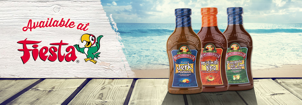 Margaritaville Foods Available at Fiesta