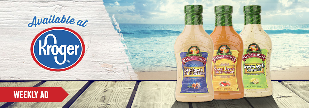 Margaritaville Foods Available at Kroger