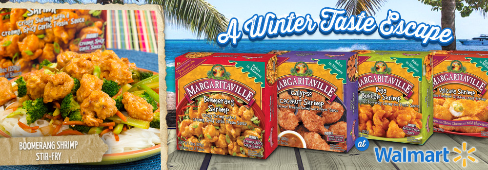Margaritaville Foods Available at Walmart