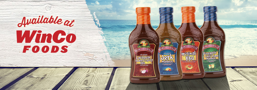Margaritaville Foods Available at WinCo Foods