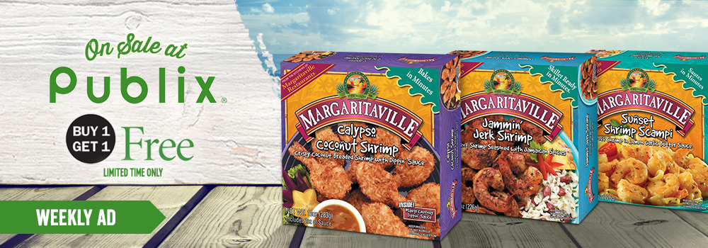 Margaritaville Foods Available at Publix