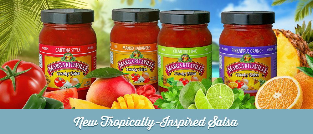 New Tropically-Inspired Salsa