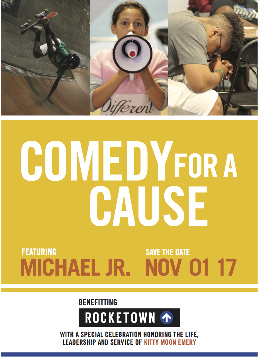 Save the Date - Comedy for a Cause 2017