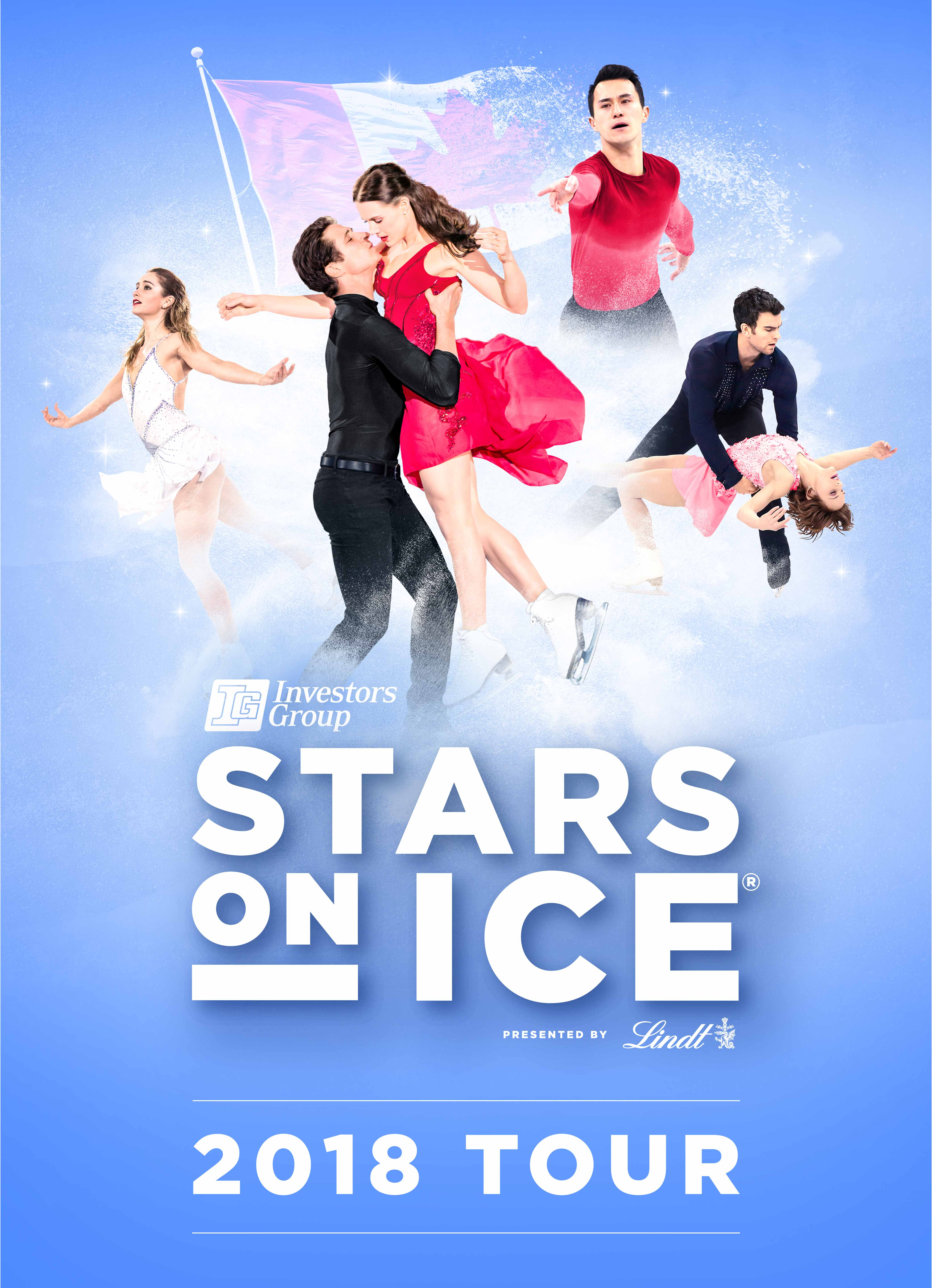 Stars on Ice Vertical Graphic - 2018