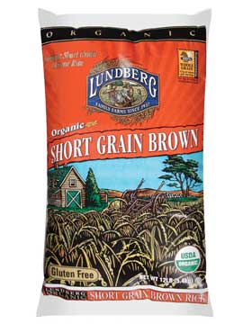 Lundberg Organic Short Grain Brown Rice - 12 Lb | Buycott