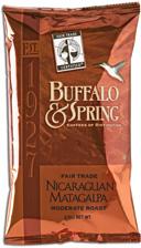 Buffalo & Spring Nicaraguan Matagalpa Coffee
