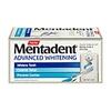 Mentadent Advanced Whitening Toothpaste Pump