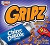 Keebler Gripz Chips Deluxe Cookies, 9CT