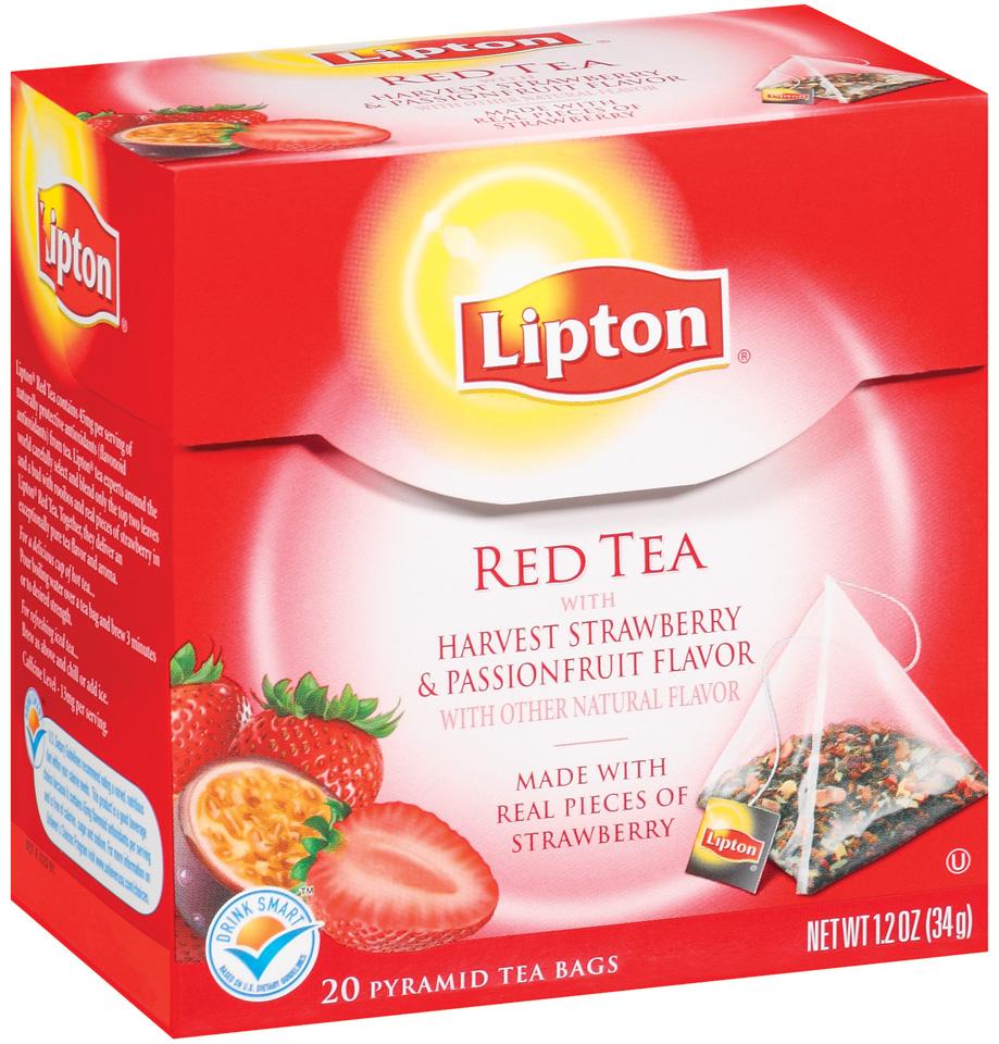 lipton african sunset red tea