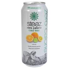 Bangalla 86552 Steaz ZERO Calorie Citrus Iced Tea- 12x16 OZ