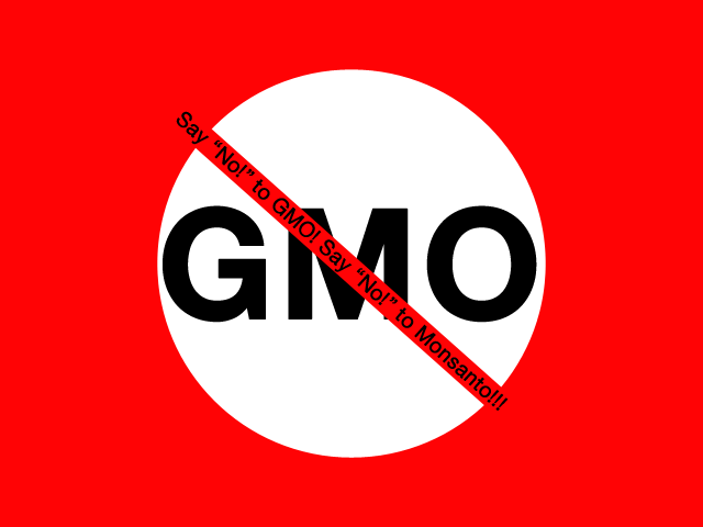 Say No to GMO - Monsanto Products Boycott