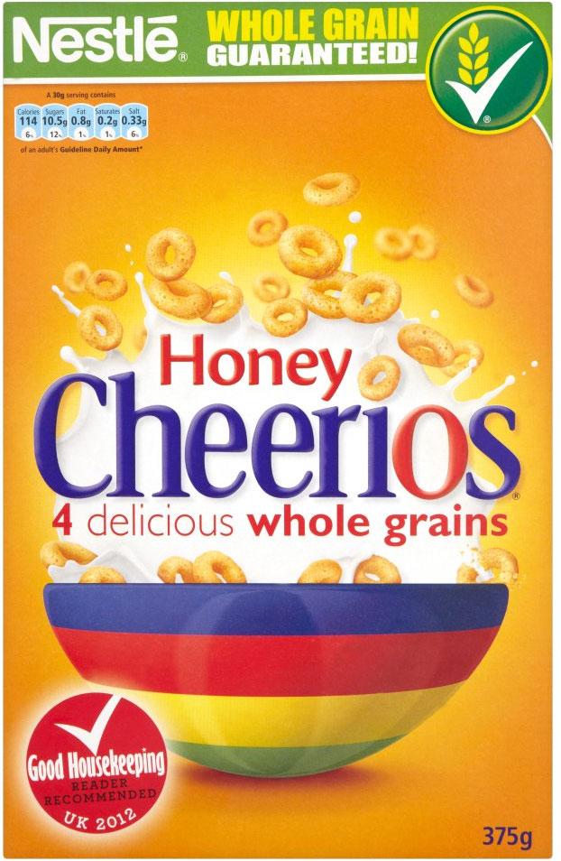 Nestle Honey Cheerios