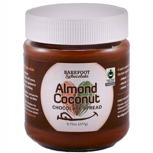 Barefoot & Chocolate - Chocolate Almond Coconut Spread