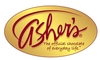 Ashers Chocolate Asher Milk Chocolate Graham Crackers, 7.15 Ounce -- 12 per case.