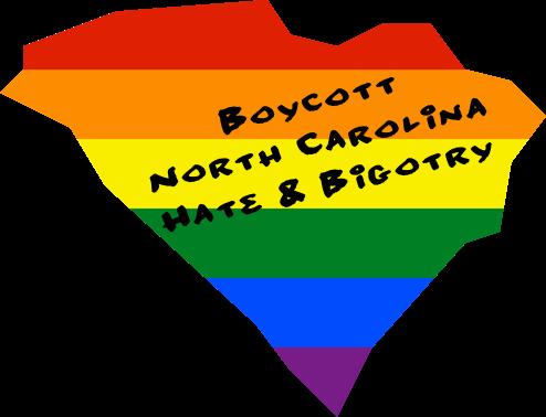 Boycott NC LGBT Hate