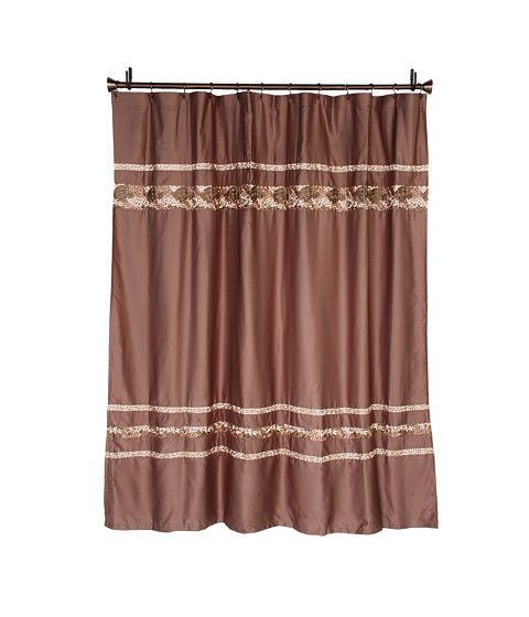 Curtains Ideas croscill mosaic shower curtain : UPC 083013033555 Croscill Mosaic Shower Curtain (Mocha) Bath ...