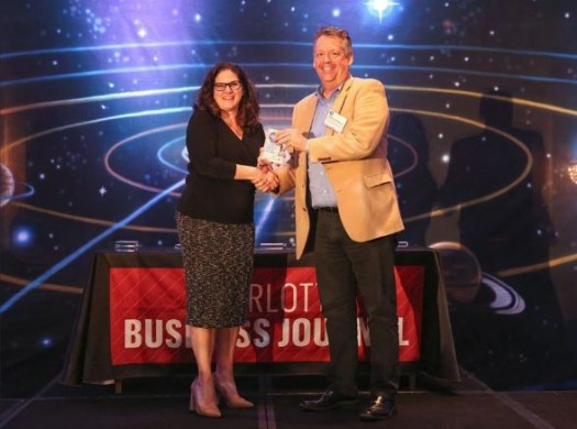Award:  Charlotte Business Journal Fast50 - #8