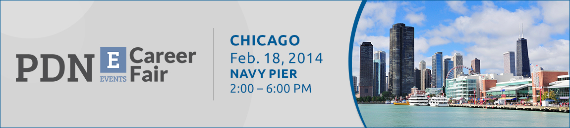 Time to find your next career. Professional Diversity Network, PDN-E 2014 Chicago Career Fair. Chicago, Feb. 18, 2014, Navy Pier, 2:00-6:00pm
